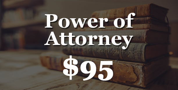 Power of Attorney Pricing - $95